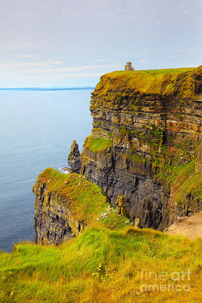 Moher Photograph - Cliffs Of Moher by Gabriela Insuratelu