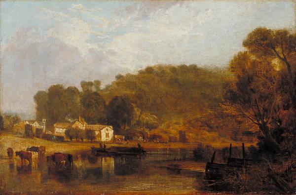J. M. W. Turner Painting - Cliveden On Thames by JMW Turner