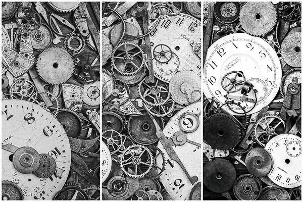 Clock Wall Art - Photograph - Clockworks Still Life by Tom Mc Nemar