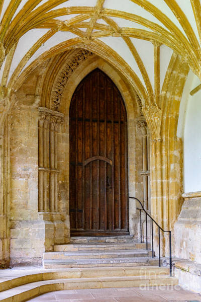 Photograph - Cloisters, Wells Cathedral by Colin Rayner