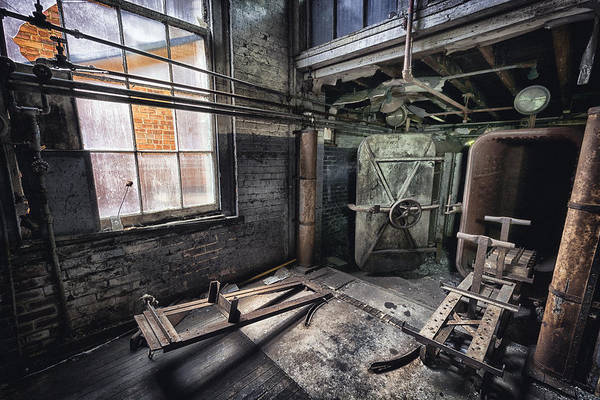 Silk Photograph - Closed And Forgotten by Robert Fawcett