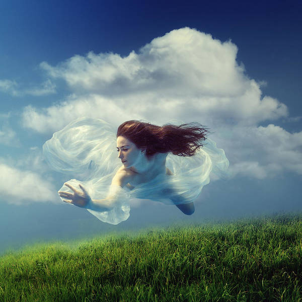 Photograph - Cloud by Dmitry Laudin
