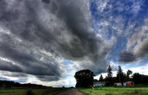 Photograph - Cloud Lane by David Matthews