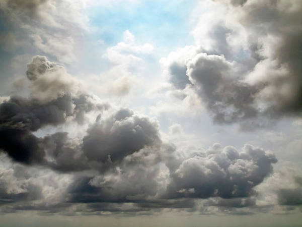 Humid Photograph - Clouds by Christopher Johnson