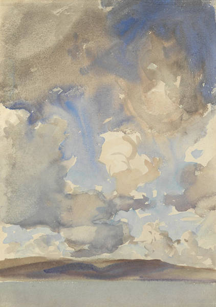 Wall Art - Painting - Clouds by John Singer Sargent