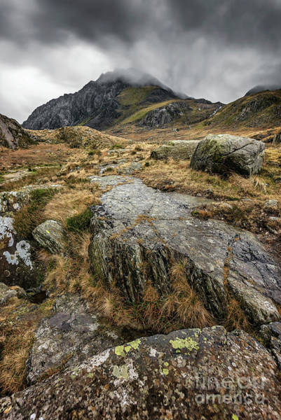 Snowdonia Wall Art - Photograph - Clouds Over Tryfan by Adrian Evans