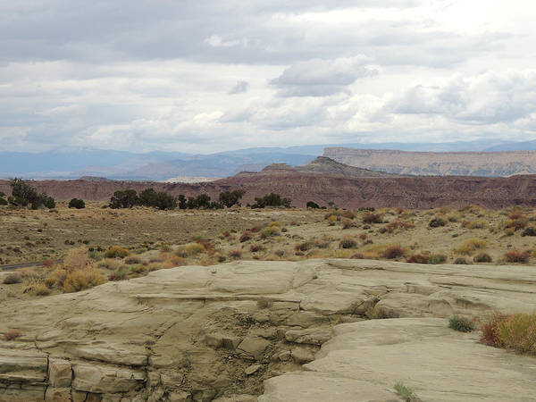 Photograph - Cloudy Desert Utah by Andrew Chambers