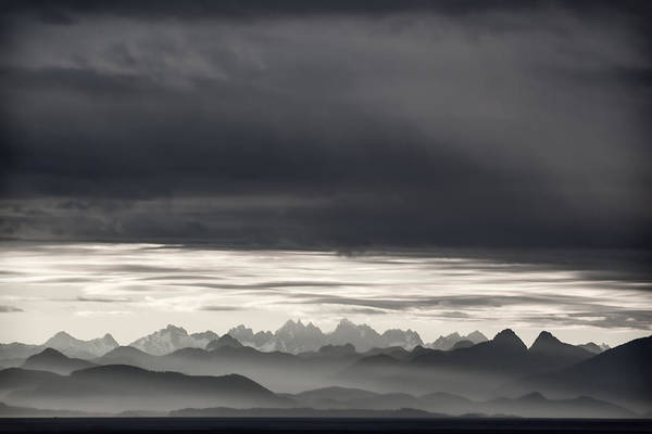 Inside Wall Art - Photograph - Coastal British Columbia by Carol Leigh