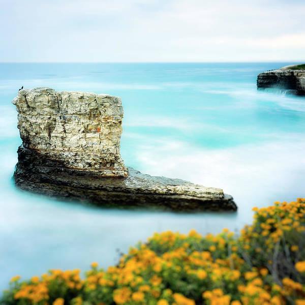 Wall Art - Photograph - Coastal Seascape by Steve Spiliotopoulos