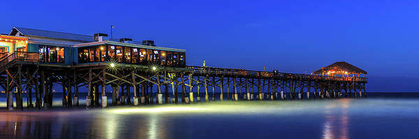 Photograph - Cocoa Beach Pier At Twilight by Stefan Mazzola