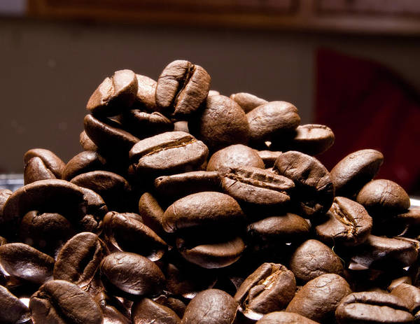 Photograph - Coffee Beans by Jim DeLillo
