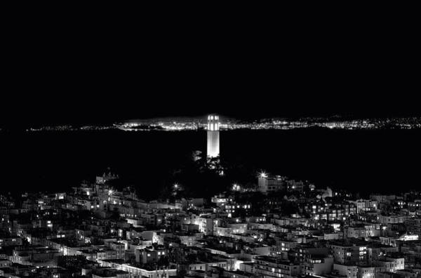 Coit Tower Photograph - Coit Tower - San Francisco by Mountain Dreams