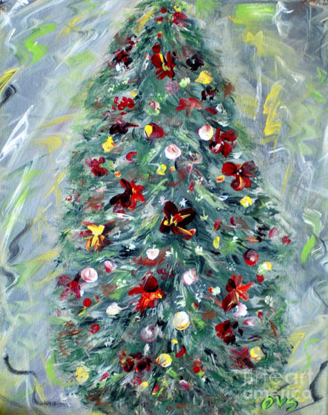 Special Offer Painting - Christmas Tree. Green by Oksana Semenchenko