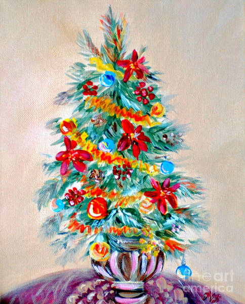 Painting - Collection Art For Health And Life. Painting 7 by Oksana Semenchenko