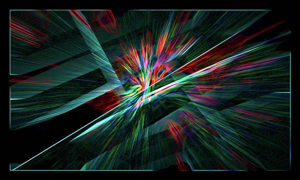 Color Burst Digital Art - Color Burst by Chris Brannen