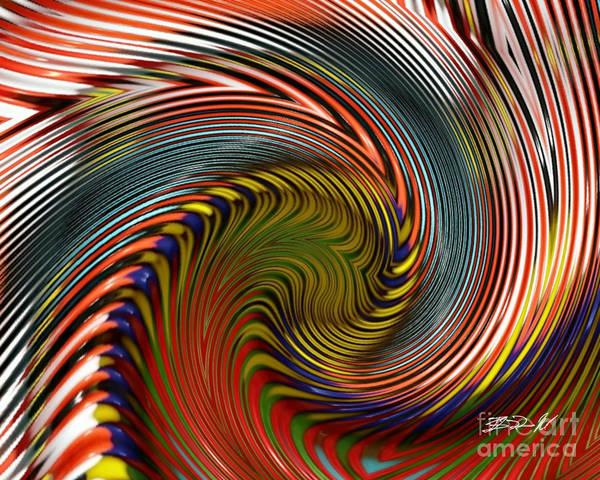 Digital Art - Color Wave by Rob Mandell