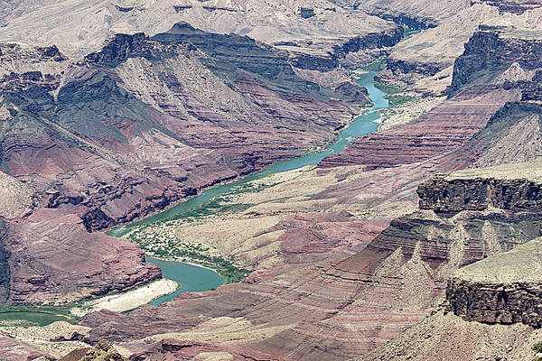 Photograph - Colorado River In The Grand Canyon by Pete Hendley