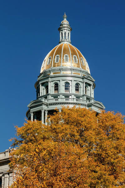 Photograph - Colorado State Capitol Building by Teri Virbickis