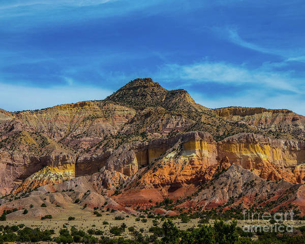 Wall Art - Photograph - Colorful Abiquiu by Stephen Whalen