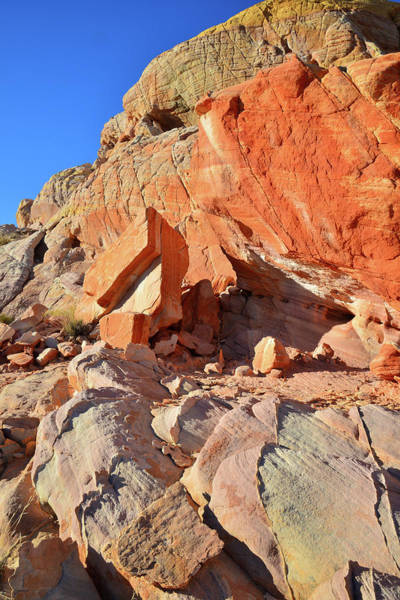 Photograph - Colorful Sandstone In Evening Light In Valley Of Fire by Ray Mathis
