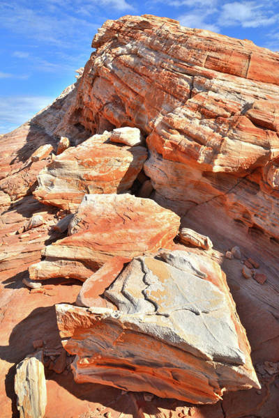 Photograph - Colorful Sandstone Of Valley Of Fire by Ray Mathis
