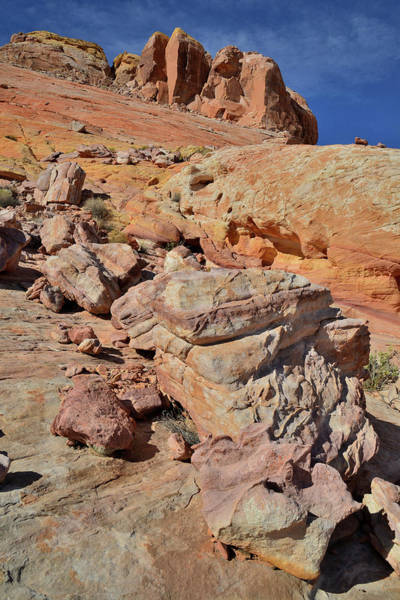 Photograph - Colorful Staircase In Valley Of Fire by Ray Mathis