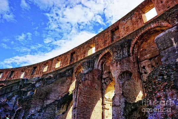 Amphitheater Wall Art - Photograph - Colosseum by HD Connelly