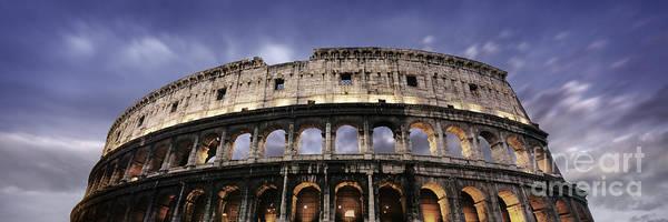 Coliseum Photograph - Colosseum by Rod McLean
