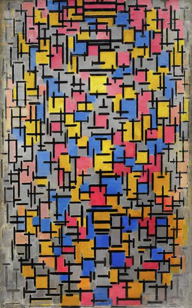 De Stijl Painting - Composition by Piet Mondrian