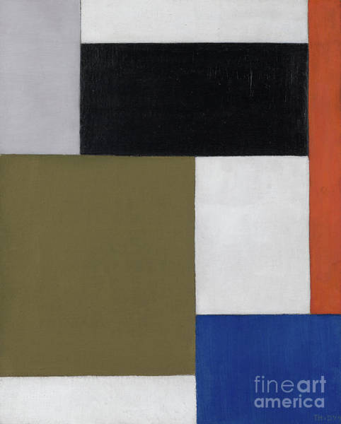 Color Block Painting - Composition by Theo van Doesburg