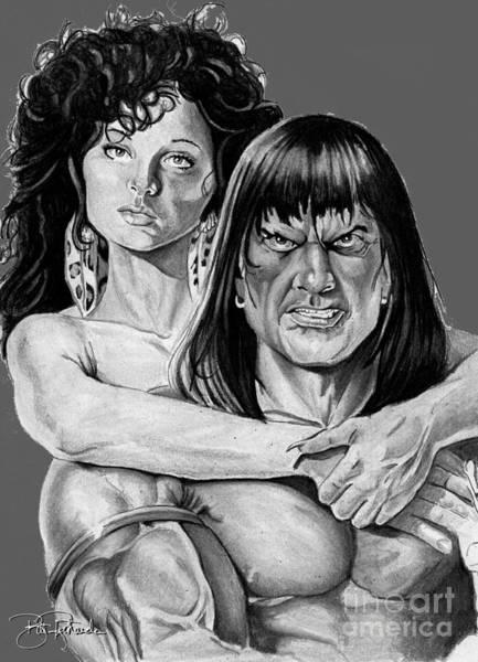 Drawing - Conan by Bill Richards