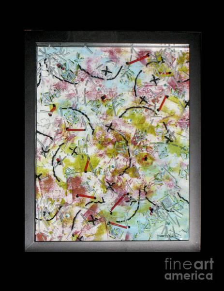 Glass Art - Confetti by Alone Larsen