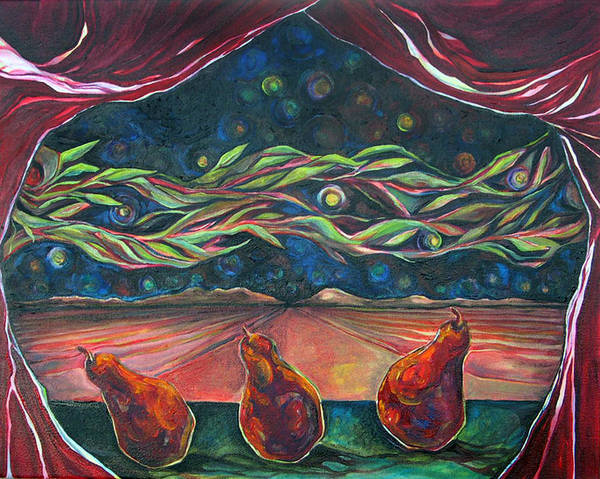 Painting - Consequence Beyond The Horizon by Julie Davis Veach