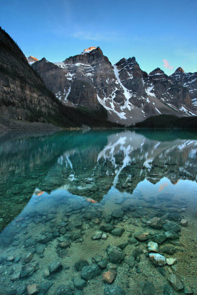 Photograph - Cool Calm Moraine by David Andersen