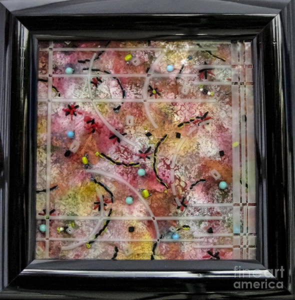 Glass Art - Cool Geometry by Alone Larsen