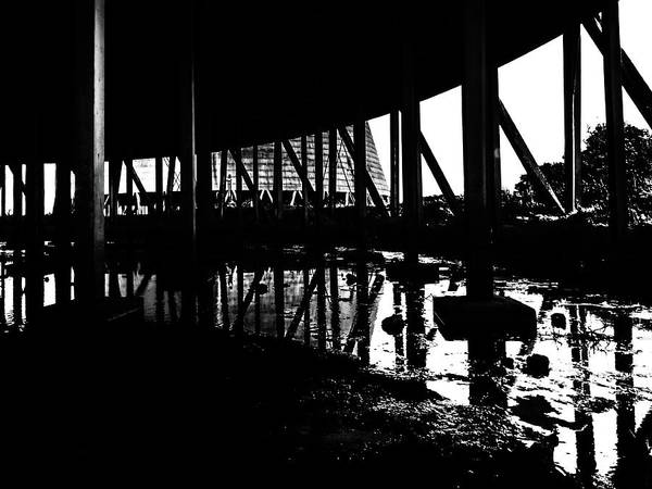 Photograph - Derelict by Nick Bywater