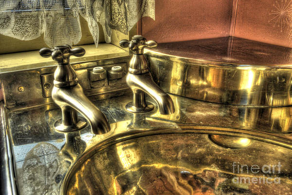 Photograph - Copper Sink  by Paul W Faust - Impressions of Light