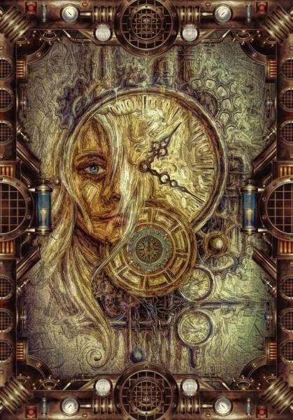 Wall Art - Digital Art - Sci-fi/fantasy by Louis Ferreira