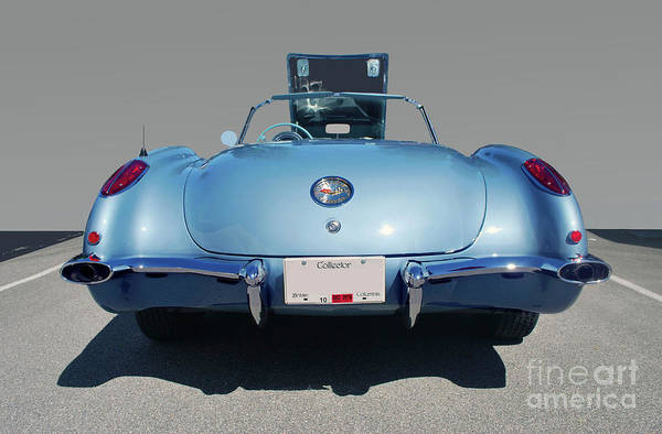 Photograph - Corvette by Bill Thomson