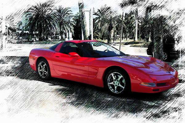 Photograph - Corvette Series 3 by Carlos Diaz