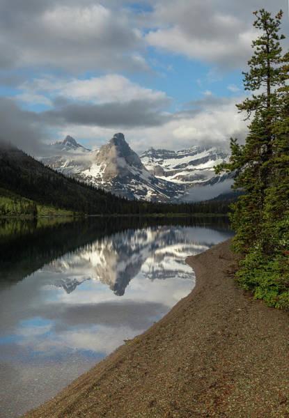 Photograph - Cosley Lake // Glacier National Park  by Nicholas Parker