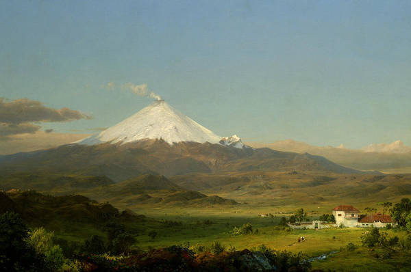 Churches Painting - Cotopaxi by Frederic Edwin Church