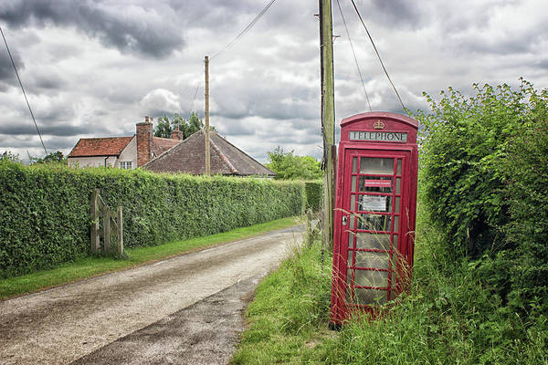 London Phone Booth Wall Art - Photograph - Country Lane by Martin Newman