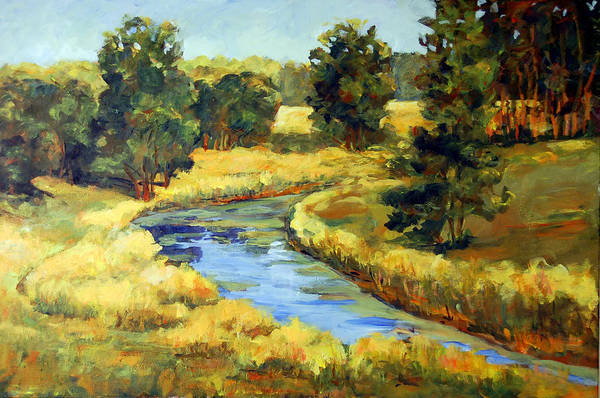 Painting - Countryside by Ingrid Dohm