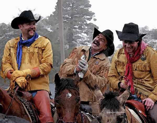 Photograph - Cowboy Humor by Matalyn Gardner