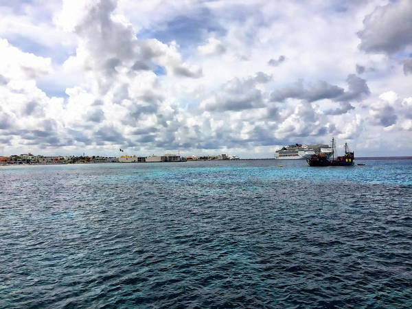 Photograph - Cozumel Panorama by Anthony Dezenzio