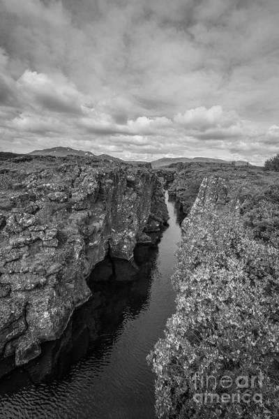 Wall Art - Photograph - Cracked Earth Bw by Michael Ver Sprill
