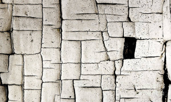 Wall Art - Photograph - Cracked Paint Grunge Wall by ELITE IMAGE photography By Chad McDermott