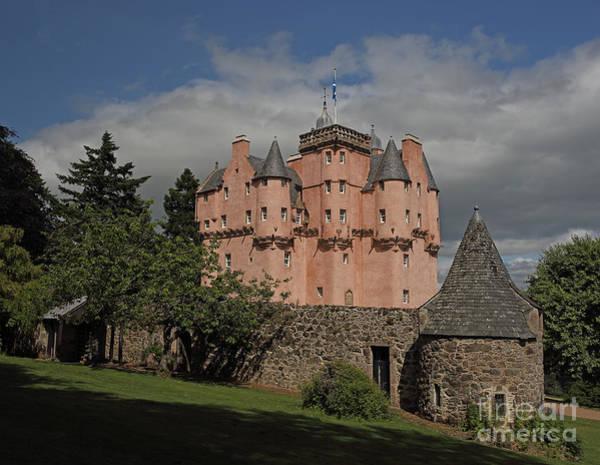 Photograph - Craigievar Castle by Maria Gaellman