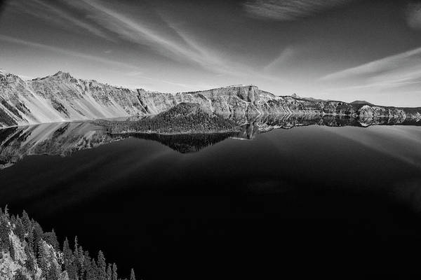 Photograph - Crater Lake West Rim  by Frank Wilson
